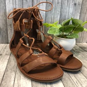 MIA Womens Gladiator Lace Up Sandal